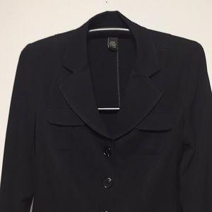 Size 14  /  16W  Black Blazer Lane Bryant